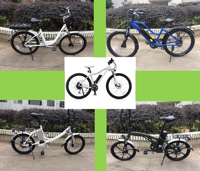 bike models collage