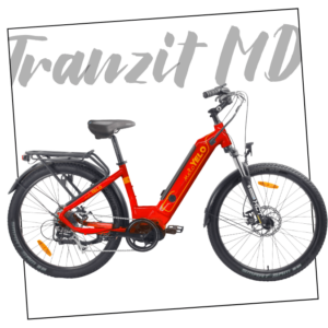 Red MeloYelo Tranzit MD electric bike