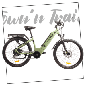MeloYelo Town and Trail electric bike