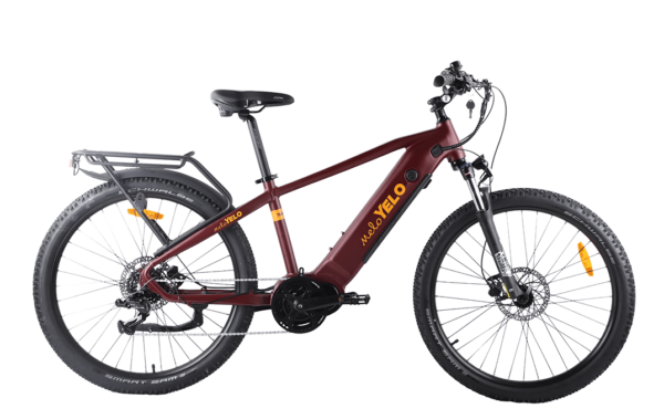 Red MeloYelo Traverse MD electric bike